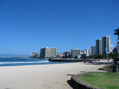 Waikiki before the crowds