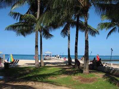 Ala Moana beach park Waikiki