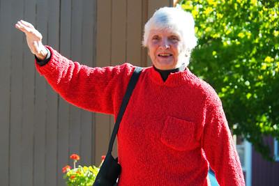 Donna at First Presbyterian Church of San Rafael on September 18, 2016