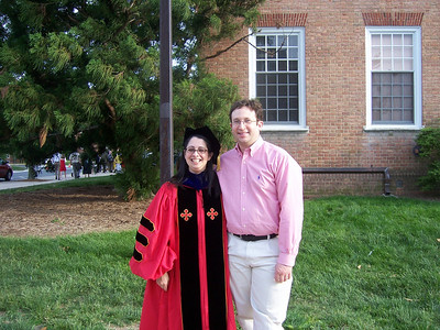 Dr. Jennifer Weisman Graduates - May 21, 2007