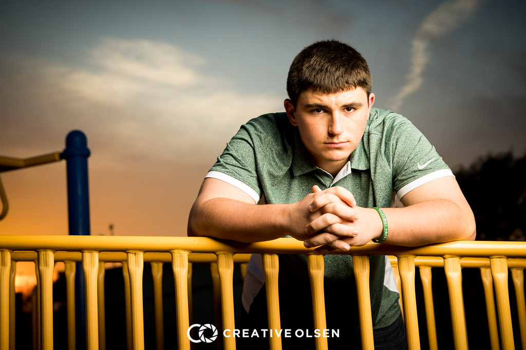 Dylan Roberts Senior Portrait Session