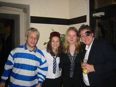 Mark, Alex, Ellie + Ed