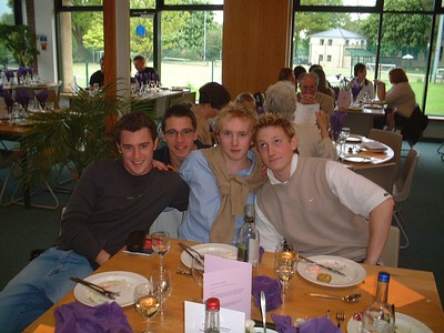 Giles, Ed, K, Catchpole + Will