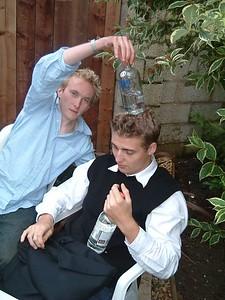Craig with Vodka