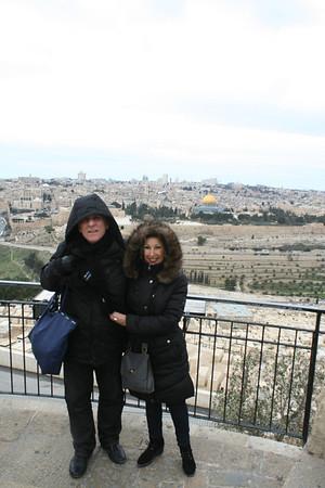 Deena and Scott in Jerusalem