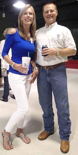 Mitzi Psencik and Steve Blanchard.