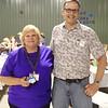 Sandra Tate (who helped organize the reunion) and Vance.