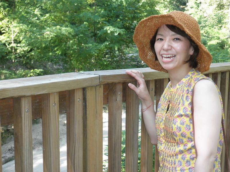 Eiko Shakuda visits Wisconsin in July 2013