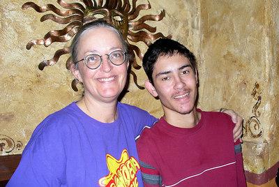 River & her son Joaquin