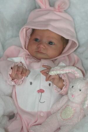 Elaina, 1 month old