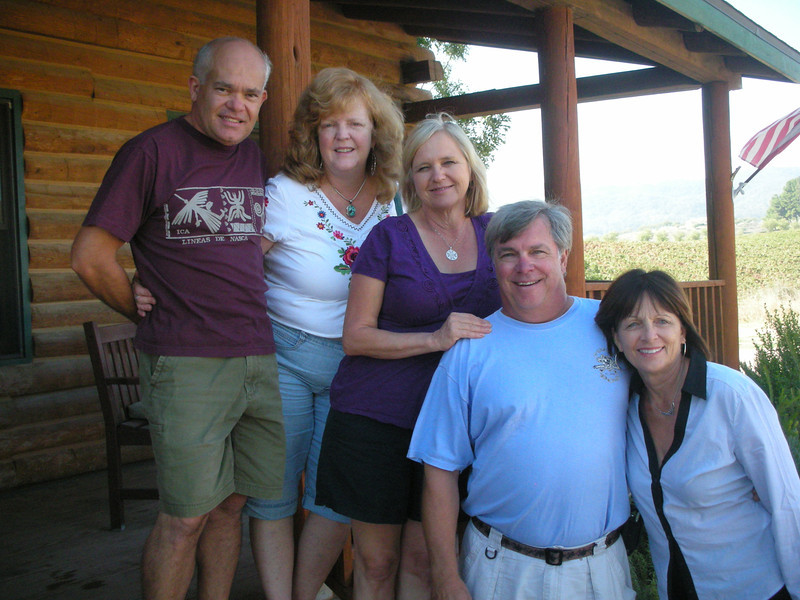 Tony and Vanessa / Elaine and Art / Jackie at the ranch