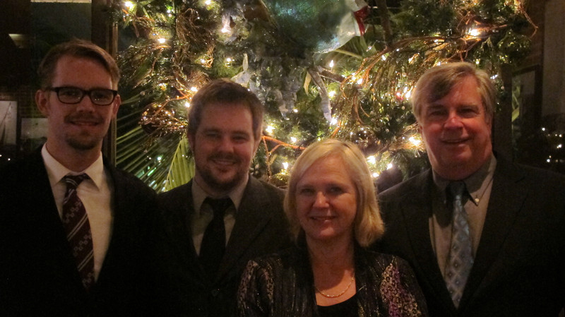 Alan, Joel, Elaine and Art Hoffmann