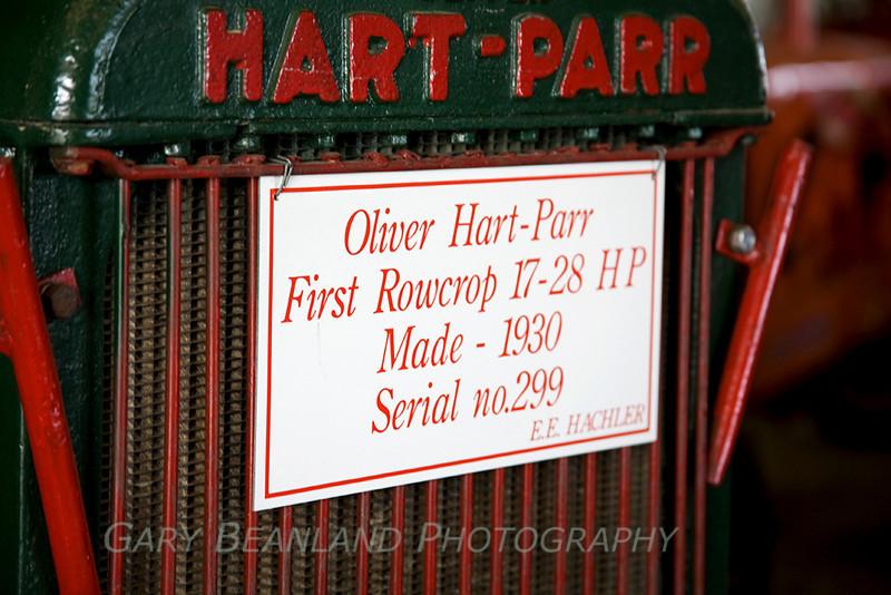 Oliver Hart-Parr Tractor 1930