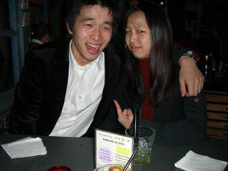 2006 01 22 Sun - Cartoon characters Hyungsoo Kim & Jenny Alyono