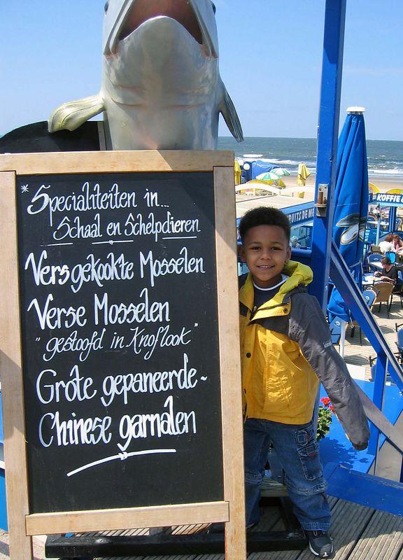 Dutch: what a big fish :-)