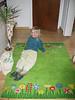 23 Hannah auf grünem Teppich