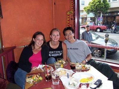 2004 07 12 Monday - Karrie, Melody, & Ben @ Kanzaman