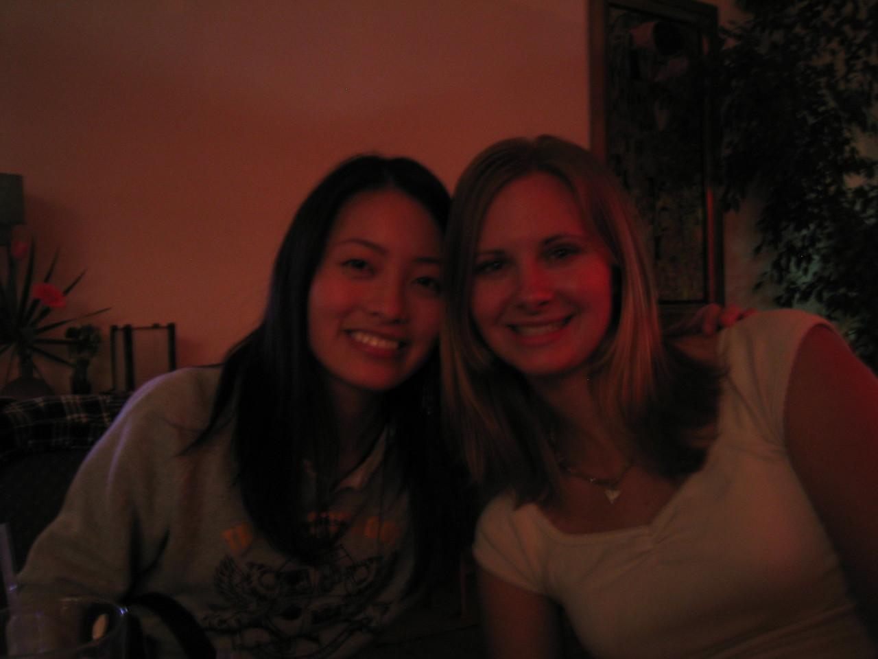 2004 05 15 Saturday - @ Everett & Jones back room jazz - Estee & Melody