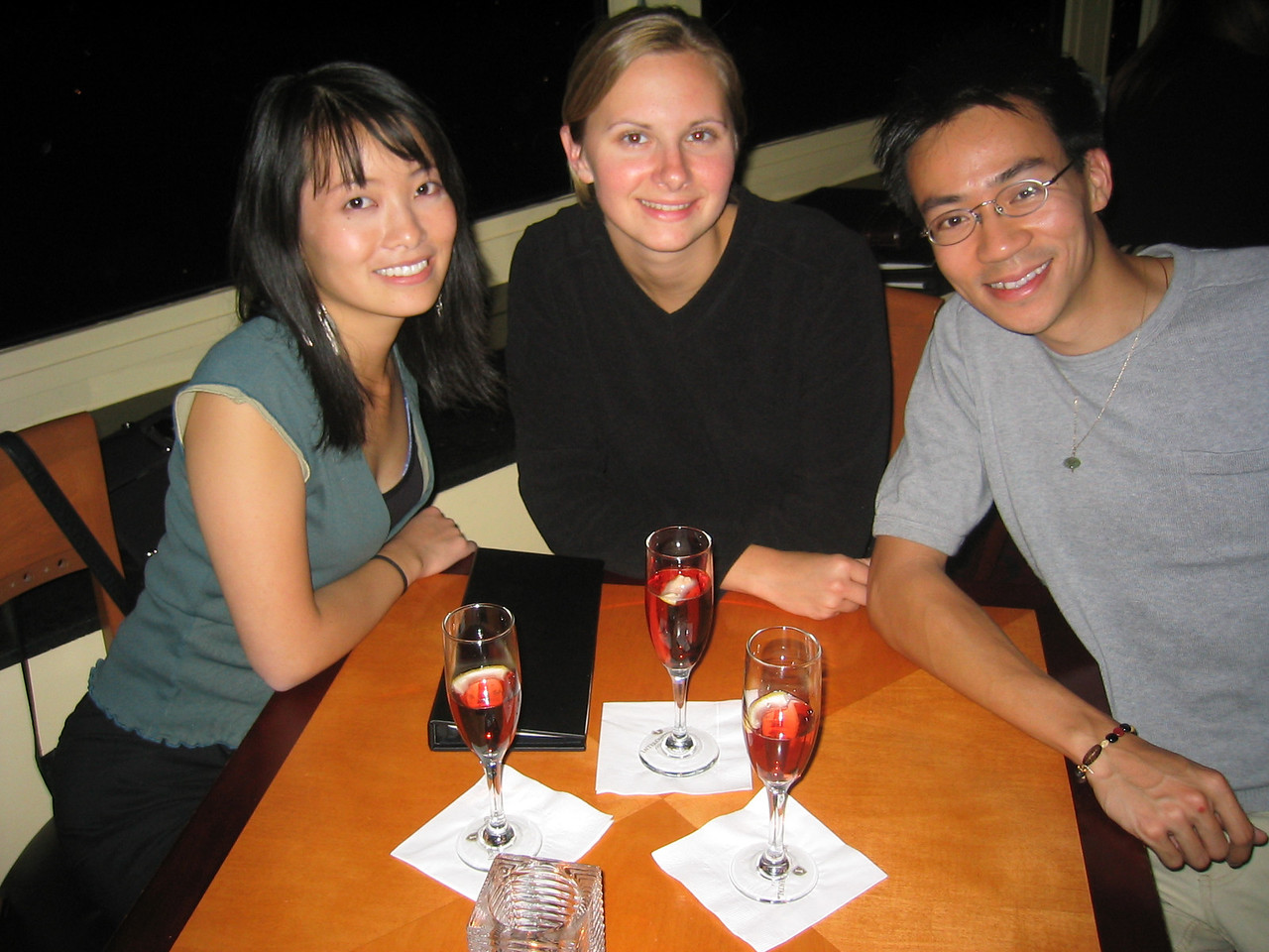 2004 06 11 Friday - Top of The Mark - Estee, Melody, & Ben