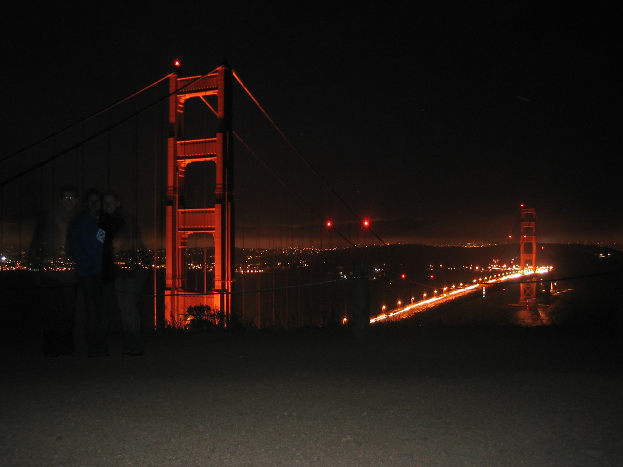 2004 07 12 Monday - Melody sees dead people @ Golden Gate Bridge  1