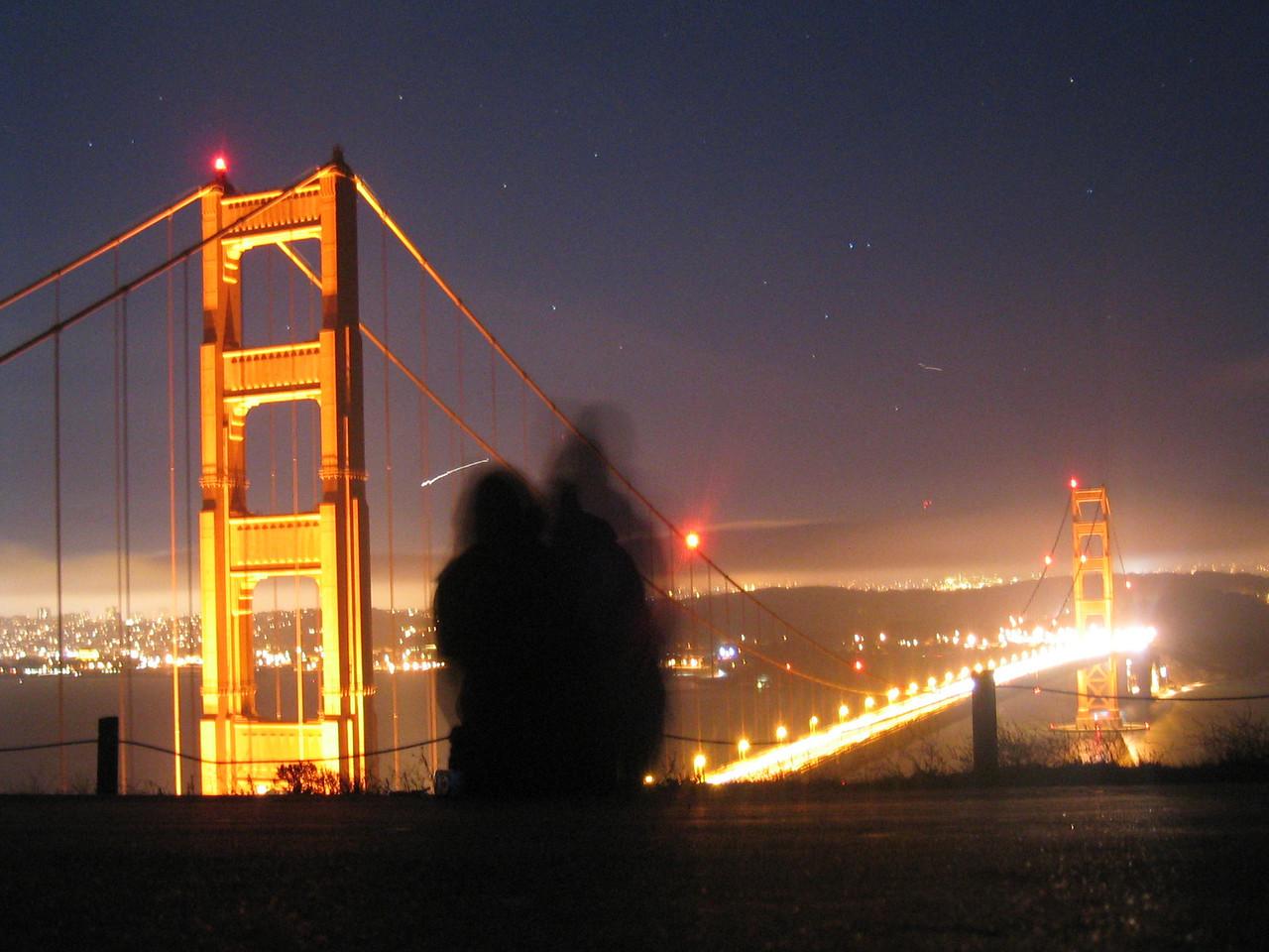 2004 07 12 Monday - Carrie & Melody @ Golden Gate Bridge