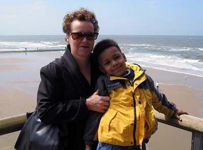 Bezoek Mariëlle & Dutch 2004