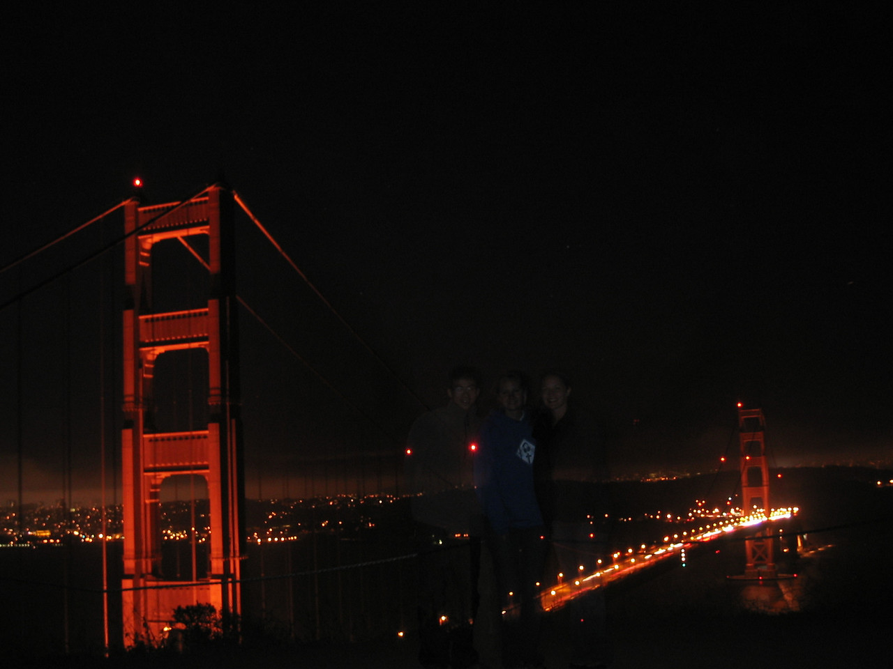 2004 07 12 Monday - Melody sees dead people @ Golden Gate Bridge  2