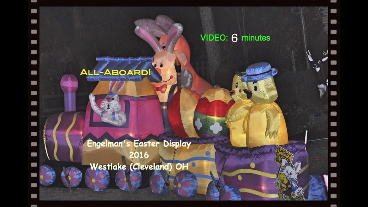 VIDEO:  6 minutes -- Engelman's Easter Display -- 2016