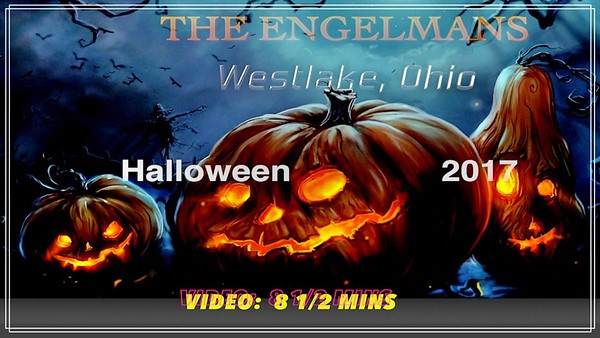 Video:  8 1/1 mins. - Engelman's 2017 Halloween Display ~~ Westlake, OH