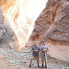 Tom and Mark at confluence of 40 Mile and Willow gulches.