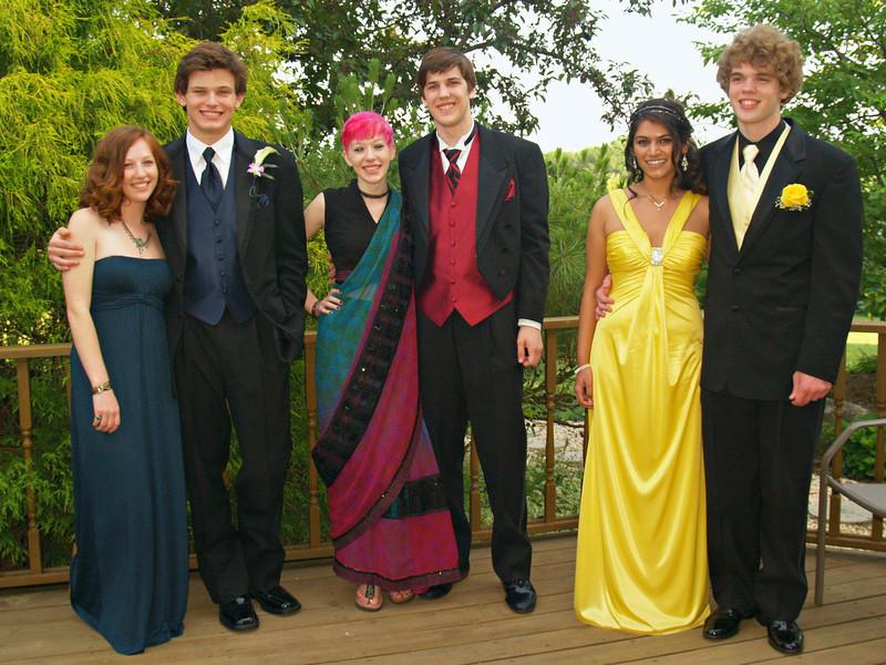Ben, Molly, Kyra, Shane, Holly, Seth