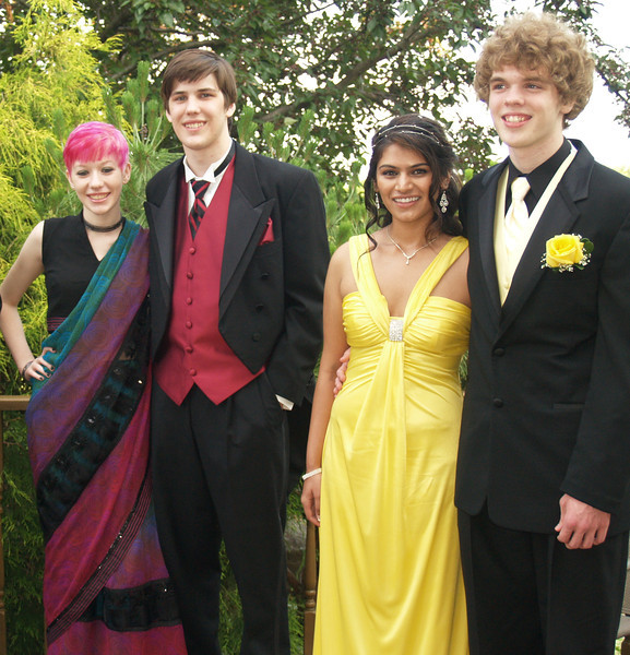 Prom 2011 -  Kyra, Shane, Holly, Seth