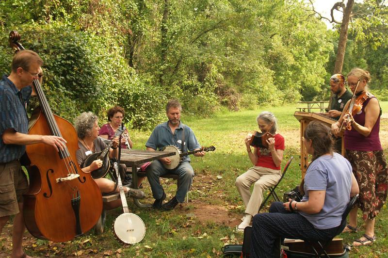 Outdoor Jam  - French Creek Music Retreat  - 09/21/2013