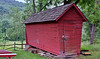 Corncrib at Quiet Valley Farm