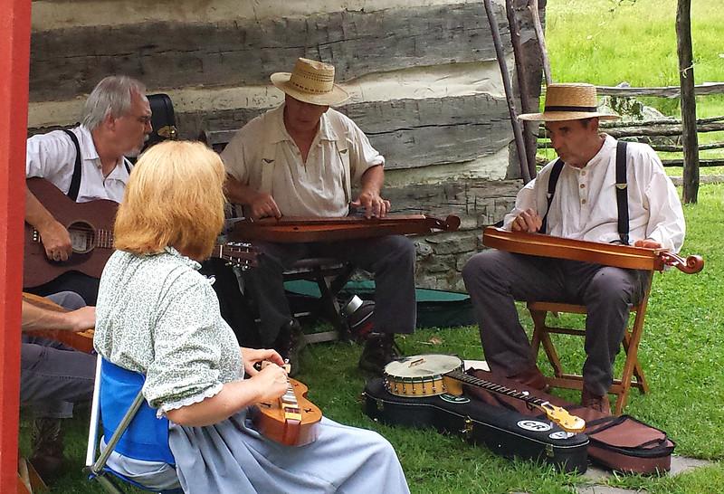 Mini-concert at Quiet Valley