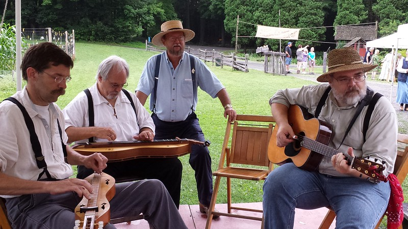 Dulcimers and Guitar at Quiet Valley