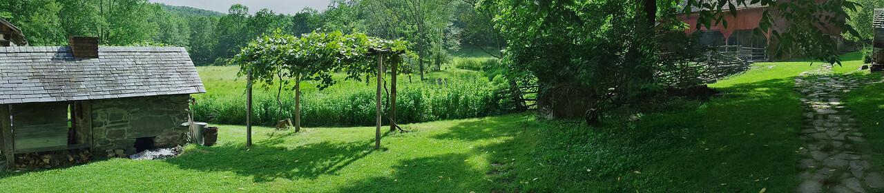 Quiet Valley Farm Panorama  - Stroudsburg, PA