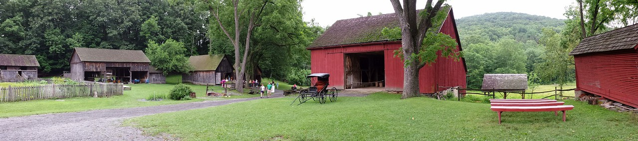 Panorama of Quiet Valley Farm  - Stroudsburg, PA