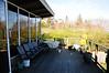 Louise has a view of Lake Washington and Seward Park