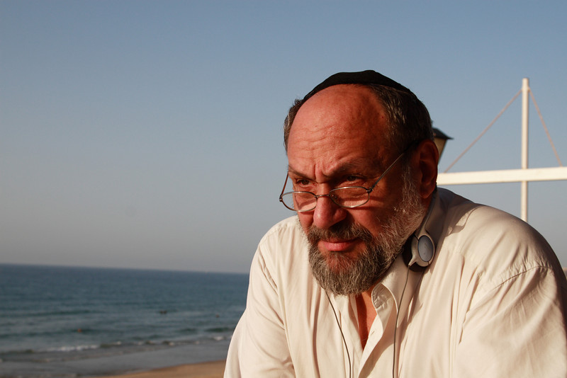 CACI - A RABBI / FROM  ZAGREB TO JERUSALEM / PHOTO TAKEN IN NOV.2007 TEL AVIV<br /> ツァツィ ラビ ザグレブからエルサレムへ 撮影 NOV. 2007 テル・アヴィヴ