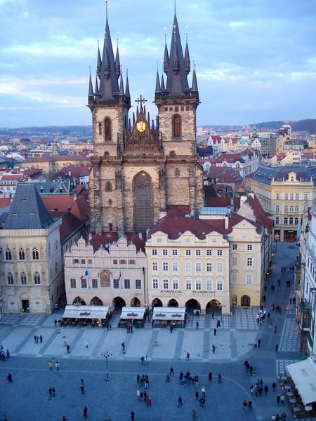 Prague Cathederal Eveving