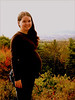 My little sister Erika, five months pregnant with Owen Joseph, Casco, ME.  Photo by Erick Poulin.