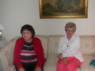 Virginia and Peggy - 30 May 2003