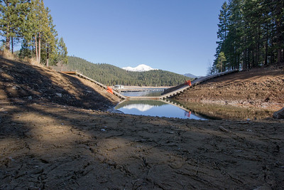 Lake Siskiyou is down.