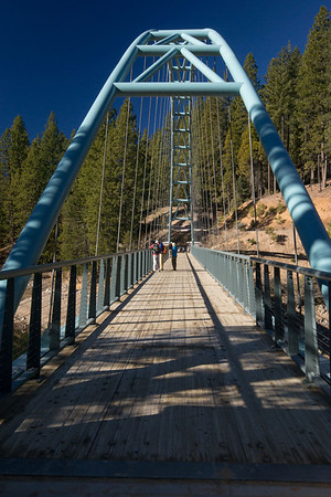 Bridge at Lake Siskiyou.