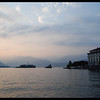 Isola Bella on the right, Fishermans island straight ahead where the wedding reception was held.