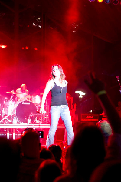 Festival of the Lakes 2012 with Gretchen Wilson and Craig Goodall in Hammond, Indiana