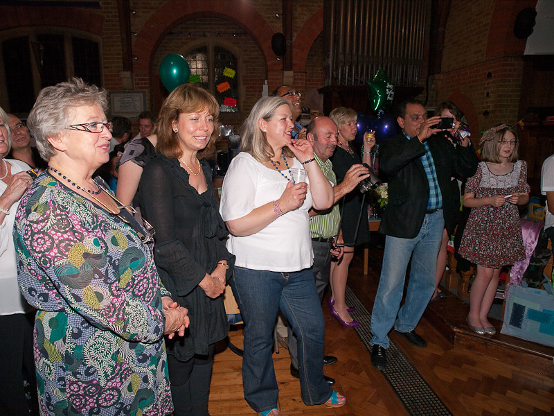 Fiona's 50th Birthday Party, Village Centre, Englefield Green
