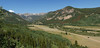 View at the start of the road up to Kingston Peak.  Stitch of 4 photos (all stitched photos should be viewed in one of the larger modes).