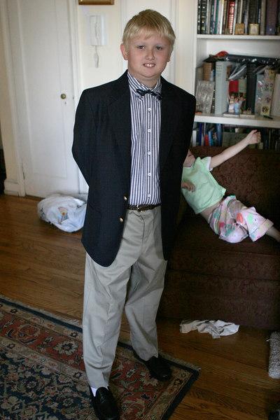 First day of school at the Yurke-Davis rez, 2006